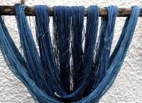 Indigo fibres